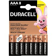 Duracell Basic AAA 8 ks