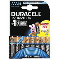 Duracell Turbo Max AAA 8 ks - Baterie