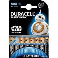 Duracell Turbo Max AAA 8 ks (edice StarWars) - Baterie