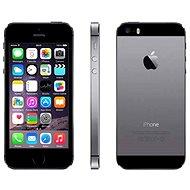 iPhone 5S 32 gigabájt (Space szürke) fekete-szürke - Mobiltelefon