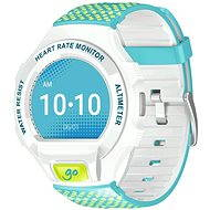 ALCATEL ONETOUCH GO WATCH SM03, White/Green & Blue
