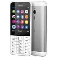 Nokia 230 bílá Dual SIM - Mobilní telefon
