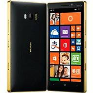 Nokia Lumia 930 čierno zlatá - Mobilný telefón