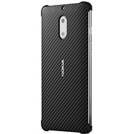 Nokia Carbon Fibre Design Case CC-802 for Nokia 6 Onyx Black