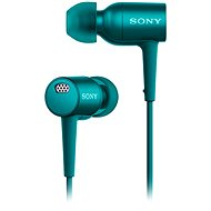 Sony Hi-Res MDR-EX750NAL cyan - Headphones
