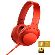 Sony Hi-Res MDR-100AAPR red