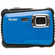 Rollei Sportsline 64 Light blue-black + free bag - Digital Camera