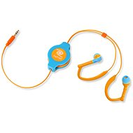 RETRAK audio NEON Sport oranžovo-modrá
