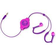 RETRAK audio NEON Sport fialovo-růžová