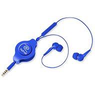RETRAK Earbuds iPhone Controls modrá
