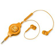 Retrak Earbuds iPhone Controls orange