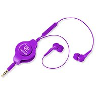 Retrak Earbuds iPhone Controls purple