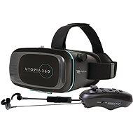 RETRAK Utopia 360° VR + ovladač + sluchátka - Brýle pro virtuální realitu