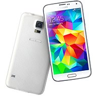 Samsung Galaxy S5 (SM-G900) Shimmer White - Mobile Phone