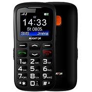 Aligator A430 Senior Black Grey + Stolní nabíječka - Mobilní telefon