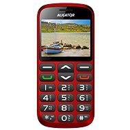 Aligator A870 GPS Senior Red + Desktop Charger - Mobile Phone