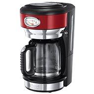 Russell Hobbs Retro Red Glass C/Maker 21700-56 - Kaffeemaschine