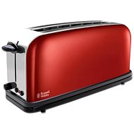 Russell Hobbs Long Slot Toaster Flame Red 21391-56 - Toaster