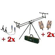Mivardi Stativ Premium-Combo (+2 swing Armee + 2 Detektoren)