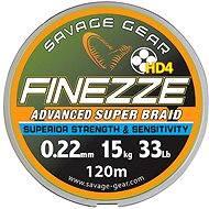 Savage Gear Finezza HD4 Braid 10lbs 120 m 0.08 mm 4.5 kg Grey