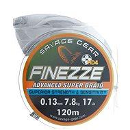 Savage Gear Finezza HD4 Braid 17lbs 120 m 0.13 mm 7.8 kg Grey