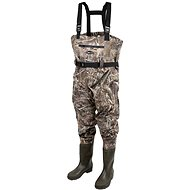 Prologic Max5 Nylon-Stretch Chest Wader w / Cleated 46/47