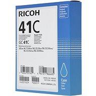Ricoh GC41C azurový