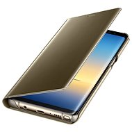 Samsung EF-ZN950C Clear View Cover pro Galaxy Note8 zlaté