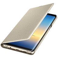 Samsung EF-NN950P LED View pro Galaxy Note8 zlaté - Pouzdro na mobilní telefon