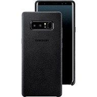 Samsung EF-XN950A Alcantara Cover pro Galaxy Note8 černý - Ochranný kryt