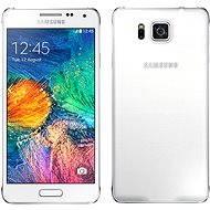 Samsung Galaxy Alpha (SM-G850F) Dazzling White - Mobilní telefon