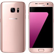 Samsung Galaxy S7 pink - Mobile telephone
