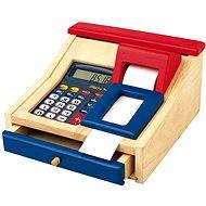 Children's electronic cash register wooden