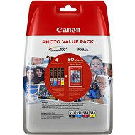 Canon CLI-551 multipack + Photo Paper PP-201