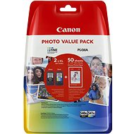 Canon PG-540XL + CL-541XL + Photo Paper GP-501
