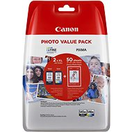 Canon PG-545XL + CL-546XL + Photo Paper GP-501
