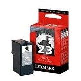 LEXMARK 18C1523E # 23 black - Cartridge