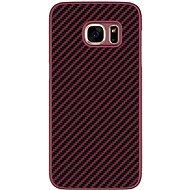 Nillkin Synthetic Fiber Carbon Red pro Samsung G930 Galaxy S7 - Ochranný kryt