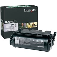 LEXMARK 12A7460 černý - Toner