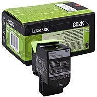 LEXMARK 80C20K0 čierny - Toner
