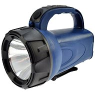 Solight rechargeable flashlight black and blue