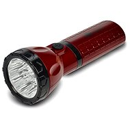 Solight rechargeable LED flashlight red-black