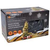 Solight LED-Kette von 60 LED warmweiß - Weihnachtsbeleuchtung