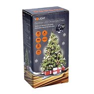 Solight LED venkovní řetěz 50LED, studená bílá - Vánoční osvětlení
