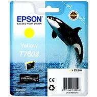 Epson T7604 žltá