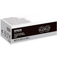 Epson S050711 čierny 2 ks