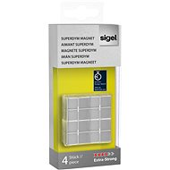 SIGEL Superdym silver 4 pieces - Cube