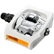 Shimano MTB PD-T400 CLICK'R zarážky SM-SH56 white - Pedále