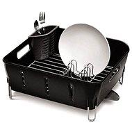 Simplehuman Odkapávač na nádobí Compact, černý plast