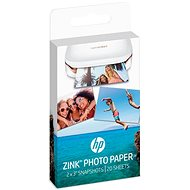 HP ZINK Sticky-Backet Photo Paper - Papír
